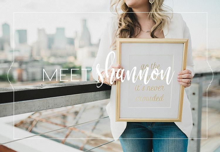 Shannon Rose Events, Fort Worth, Texas || Meet Shannon