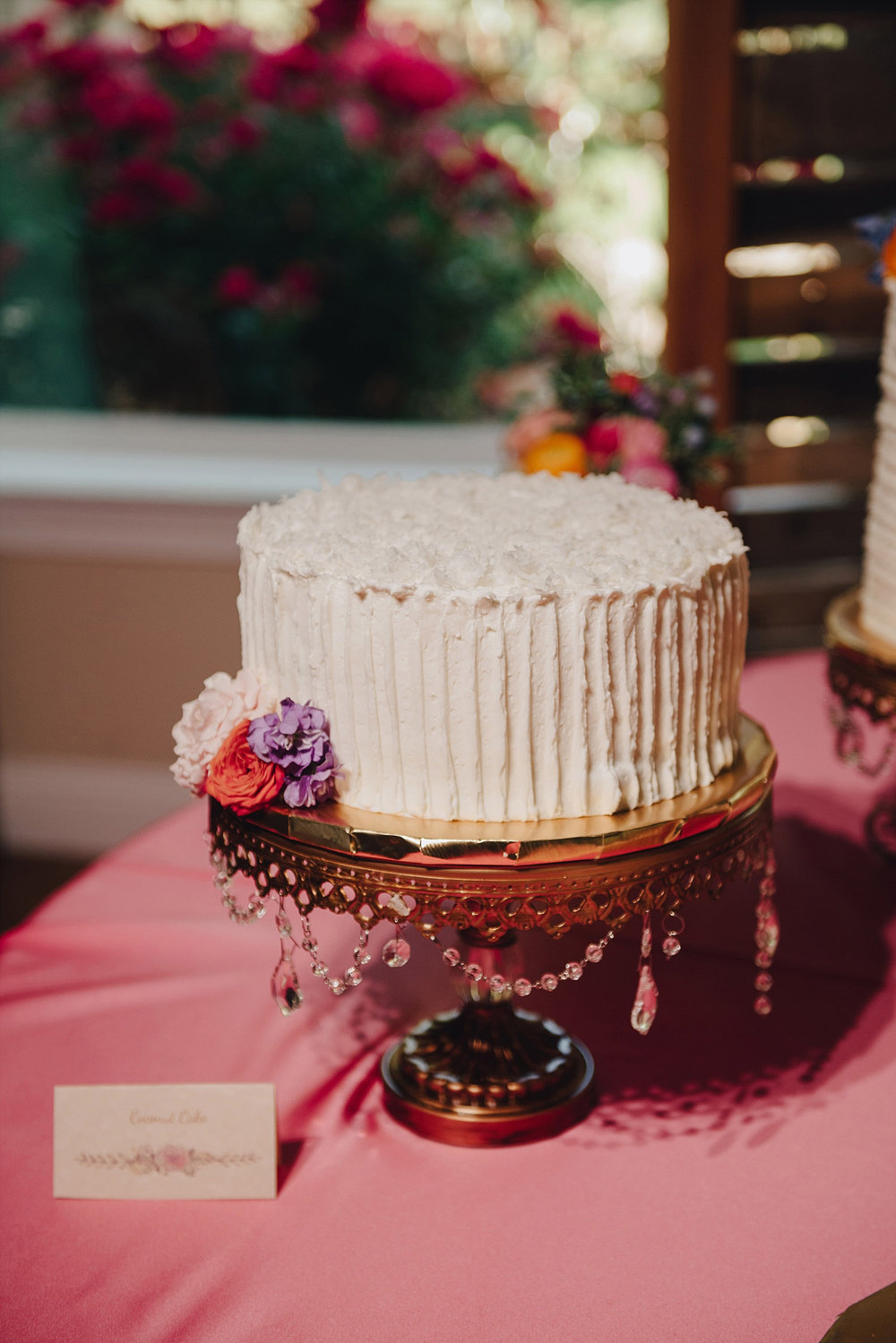 The Orchard Azle wedding cake