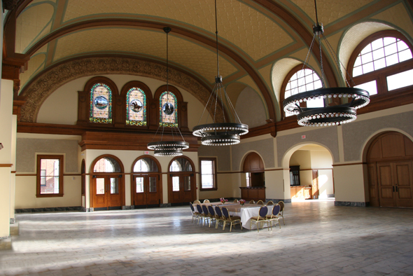 Ashton Depot Fort Worth wedding venue