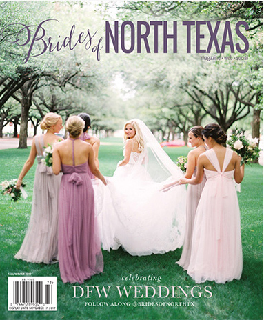 Brides of North Texas Fall/Winter Issue 2017 Cover