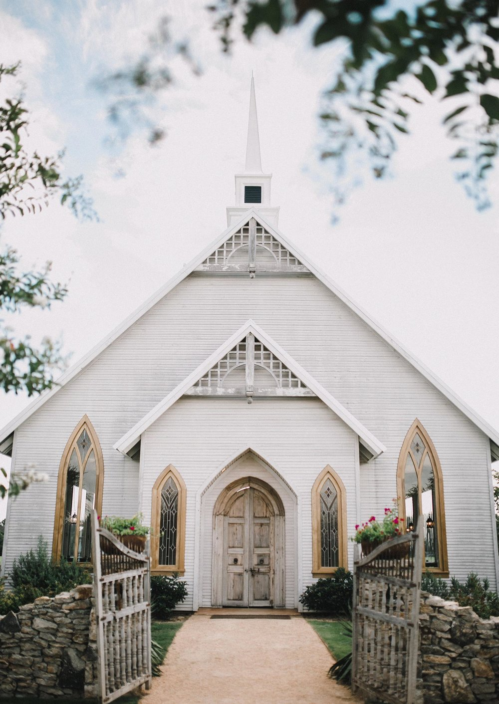 Fort Worth wedding venue Brooks at Weatherford white country chapel