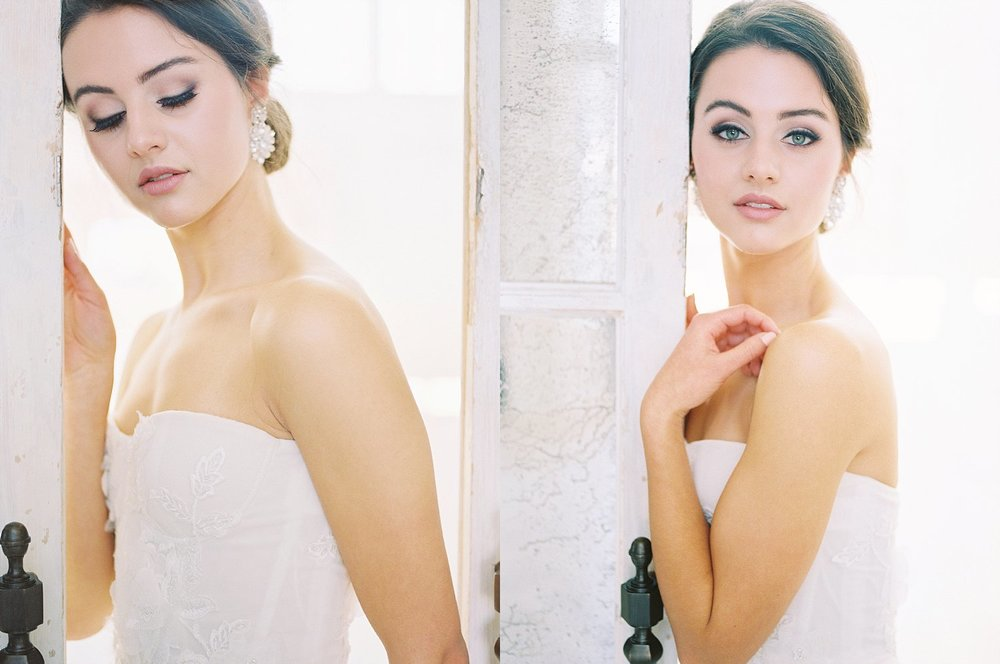 natural bridal hair & makeup