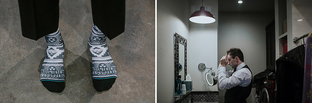 modern black and white mexican pattern socks