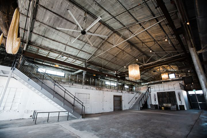 industrial fort worth tx wedding venue
