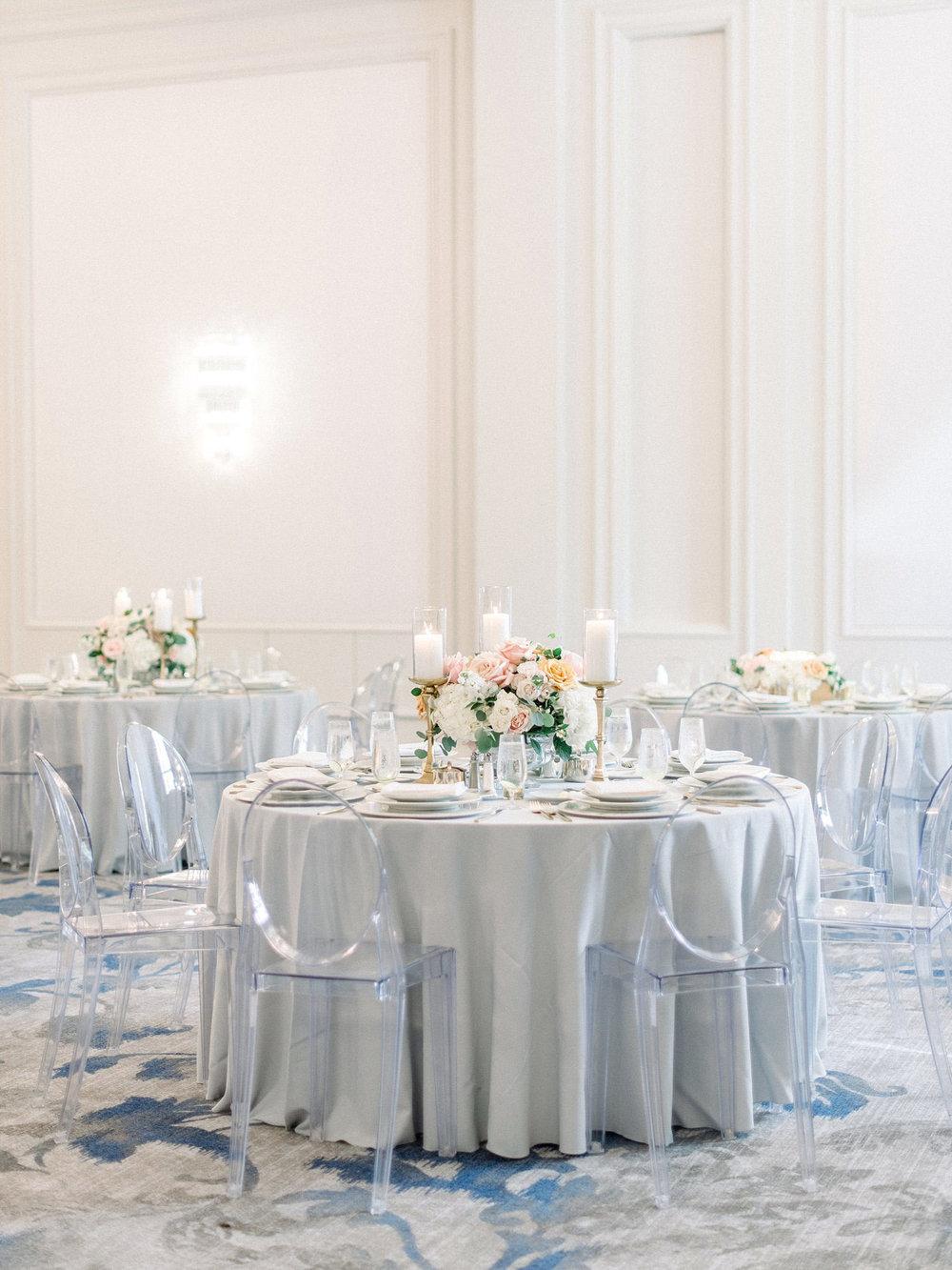 The Ritz Carlton Dallas ghost chair event