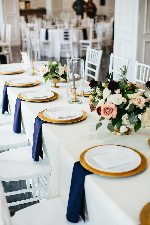 Parker Manor Wedding Reception