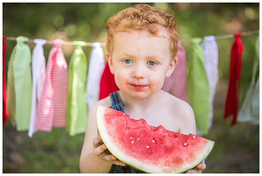 South Jersey Children's Family Photographer - South Jersey Watermelon Mini Session