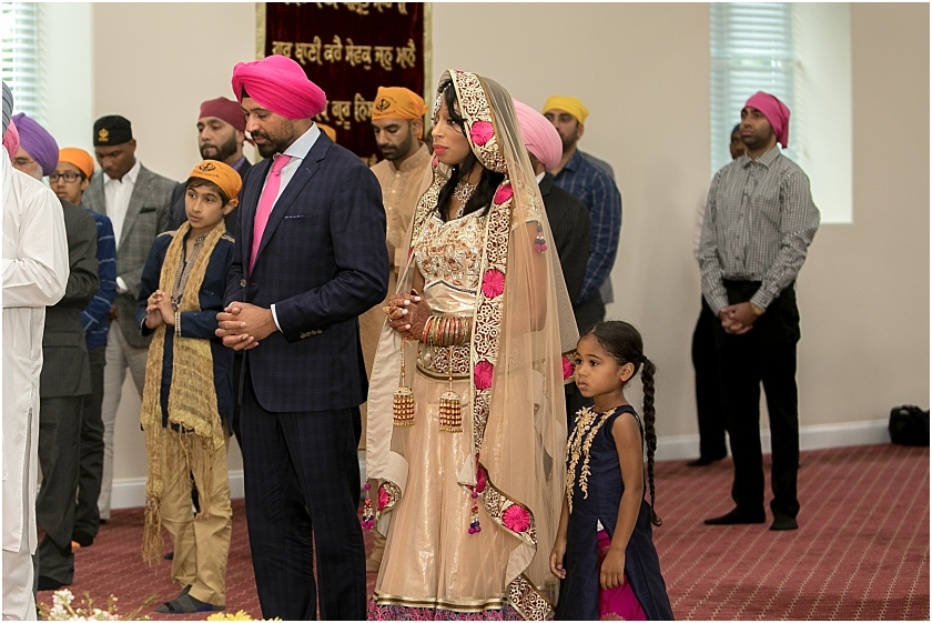 Sihk Wedding Ceremony - South Jersey Wedding Photographer