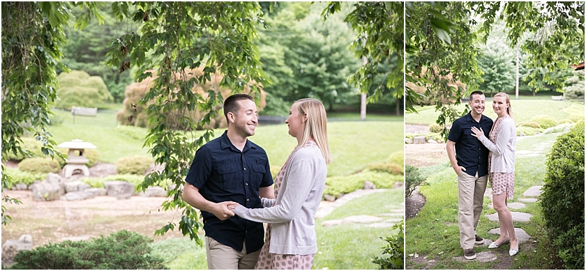 Shofuso Japanese House and Garden  Engagement Session_South Jersey Wedding Photographer_0001.jpg