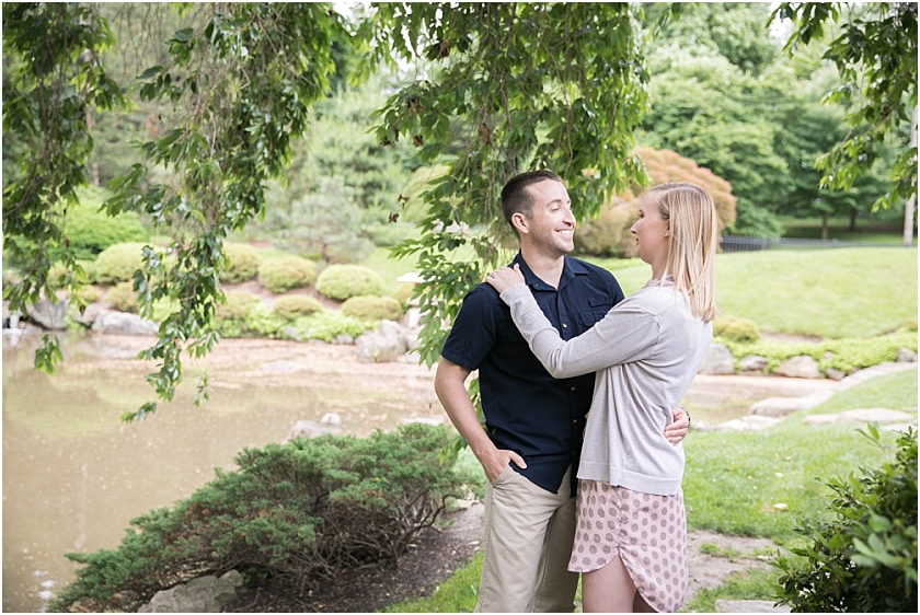 Shofuso Japanese House and Garden  Engagement Session_South Jersey Wedding Photographer_0002.jpg