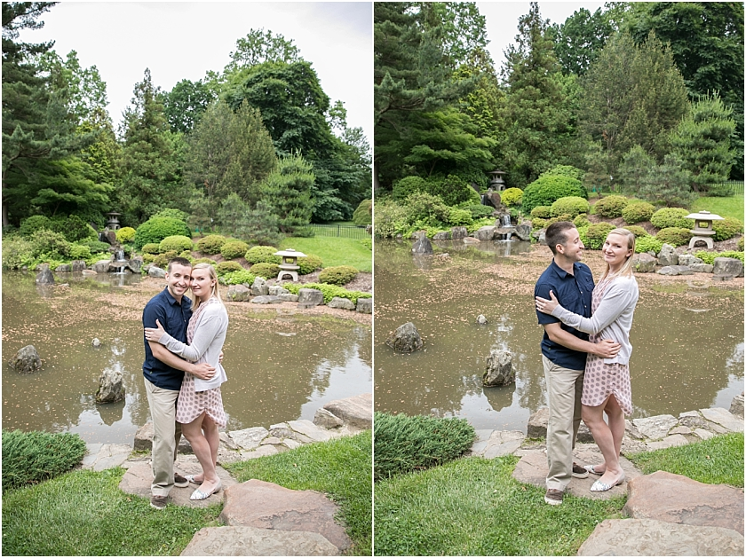 Shofuso Japanese House and Garden  Engagement Session_South Jersey Wedding Photographer_0007.jpg