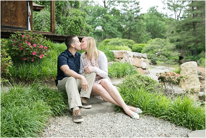 Shofuso Japanese House and Garden Philadelphia Engagement Session