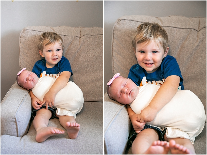 Lifestyle Newborn Session - South Jersey Newborn Photographer