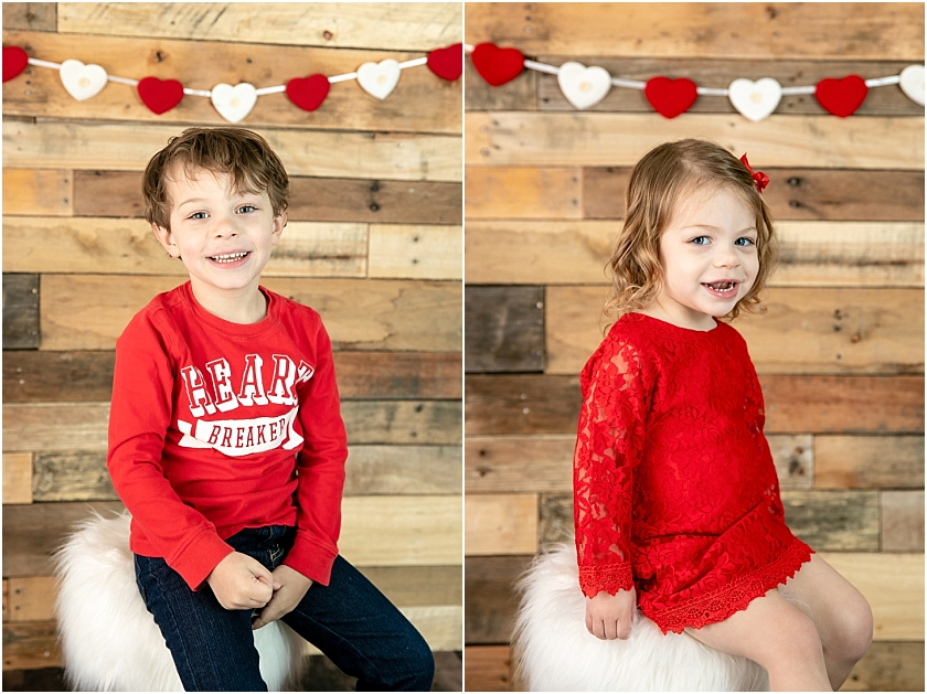 Valentine's Day Children Session - South Jersey Children's Photographer