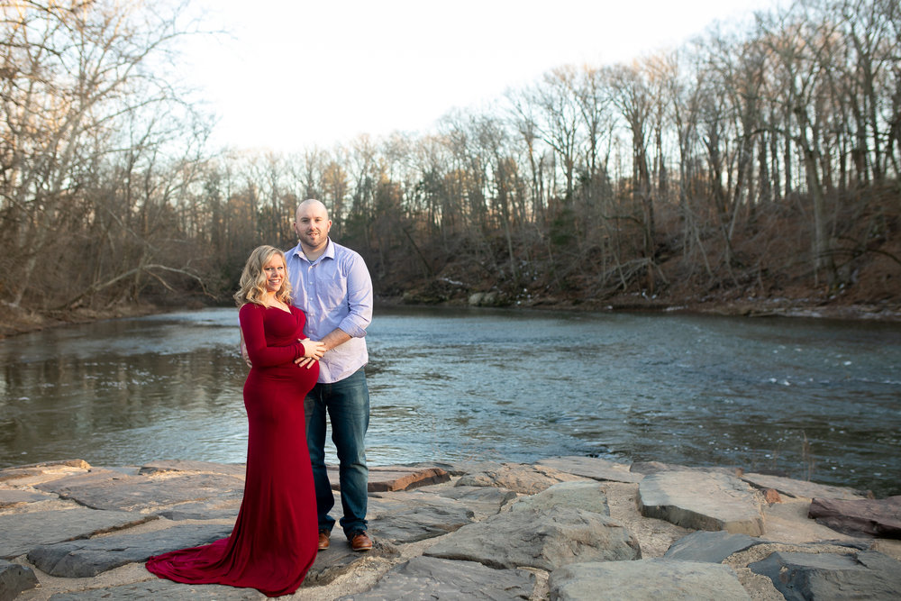 Kacie South Jersey Tyler State Park Maternity Session 002