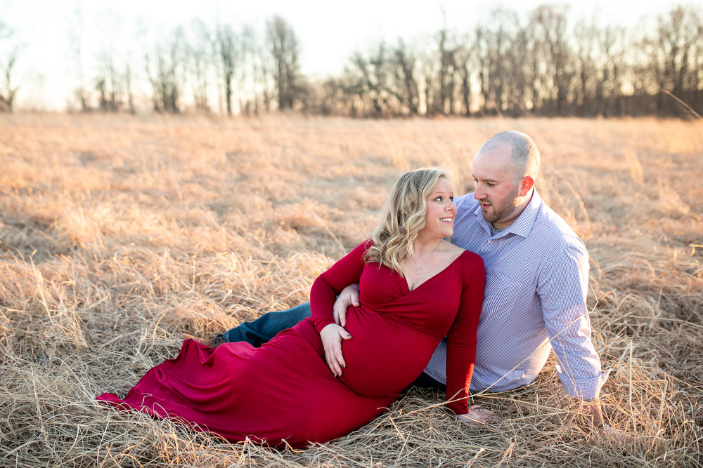 Kacie South Jersey Tyler State Park Maternity Session 021