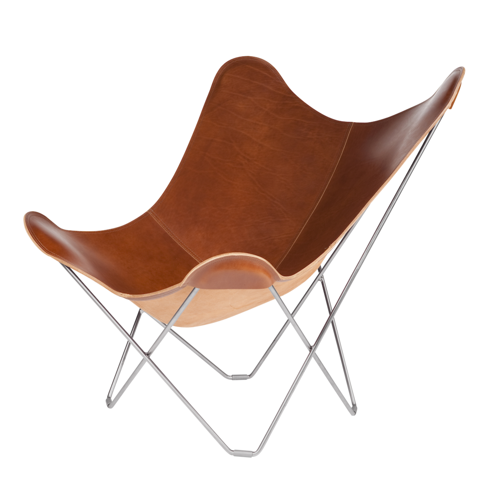 Leather Butterfly Chair - Montana  sc 1 st  Nordic House & Leather Butterfly Chair - Montana u2014 Nordic House