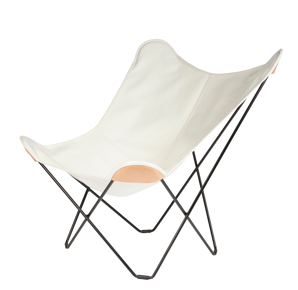 Canvas Butterfly Chair By Cuero Design