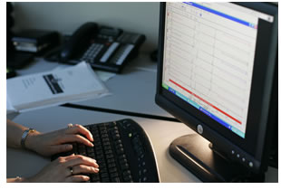 Analytical testing laboratory with custom electronic data deliverable (EDD) reporting services