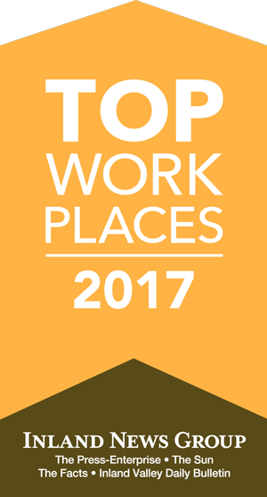 The Press Enterprise has named Babcock Labs a Top Workplace in the Inland Empire!