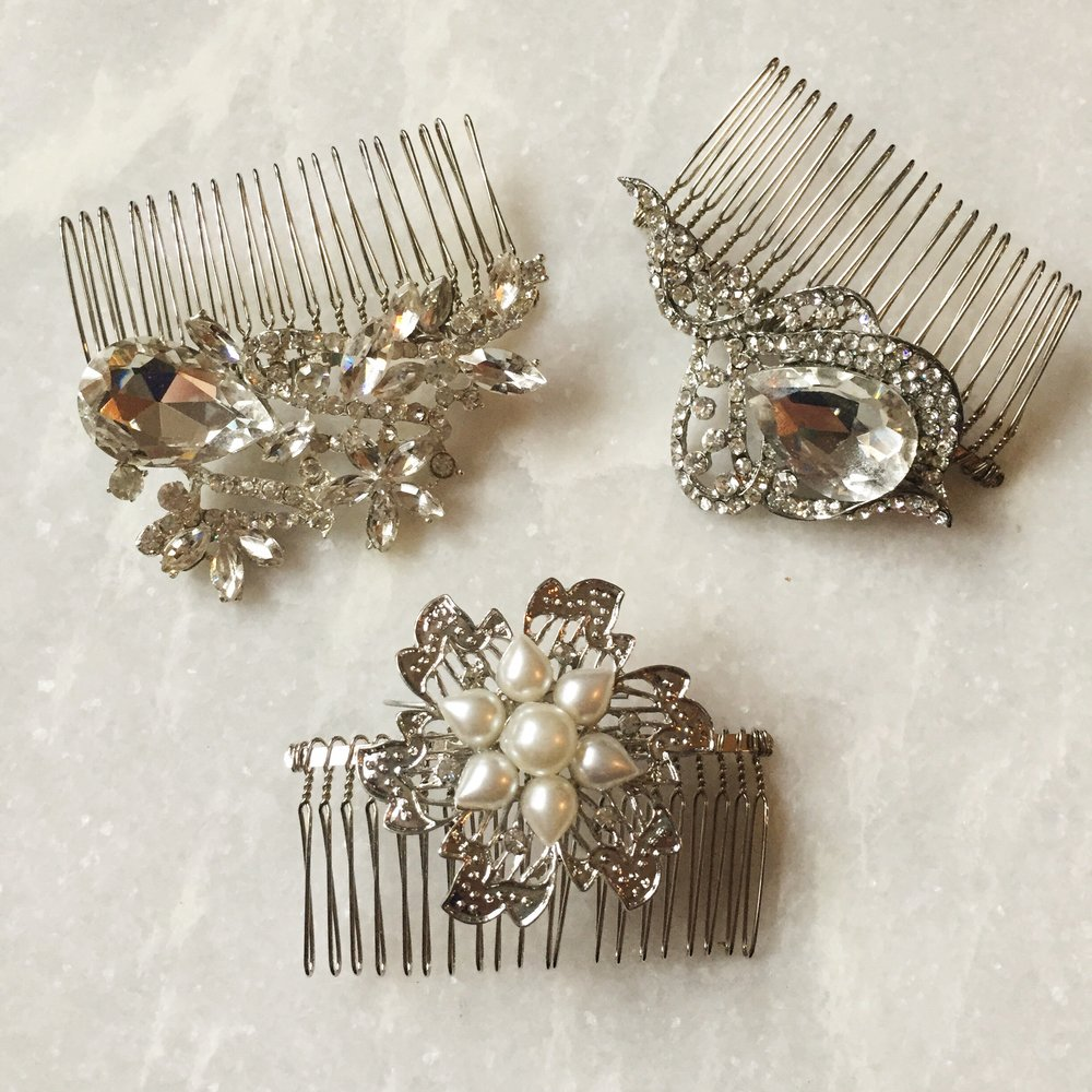 Oh, I'll make brooch hair combs! I still have some available if you're interested!