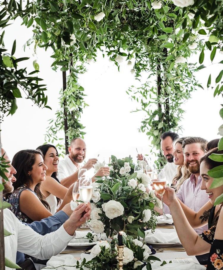 One of the amazing photo shoots! Photo by  Melissa Fitzgerald . Event design and florals by  Maxit Flower Design . Desserts by  Buttercup Bakery .