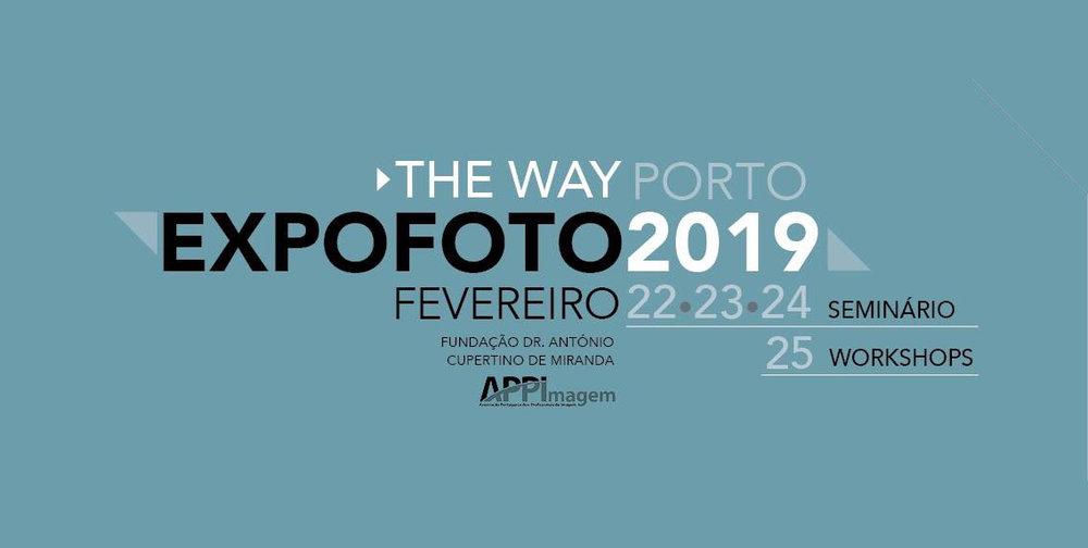 EXPOFOTO 2019 - OPORTO -Fundación Antonio Cupertino de MirandaFrom February 22 to 25, 2019https://expofoto.appimagem.pt