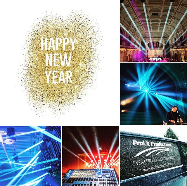 Wishing everyone a Happy New Year! We can't wait for 2019 it's going to be another great year! . . . . #events #newyear #production