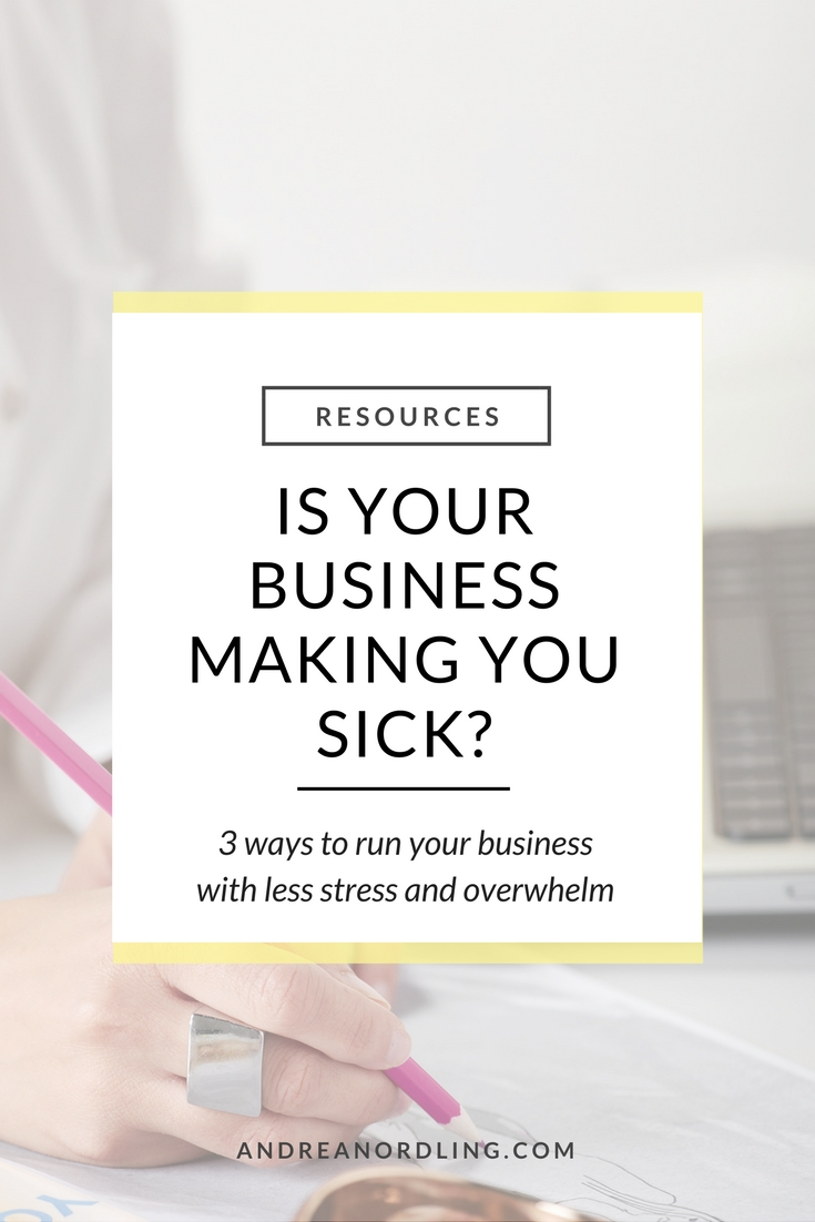 Are you an entrepreneur with a full time business or a side hustle that excites the hell out of you but also stresses you to the max? I get you. (I have been you! Hello, adrenal fatigue!) Your biz is your main focus, but your health is taking a toll...luckily, I can help you find your balance.