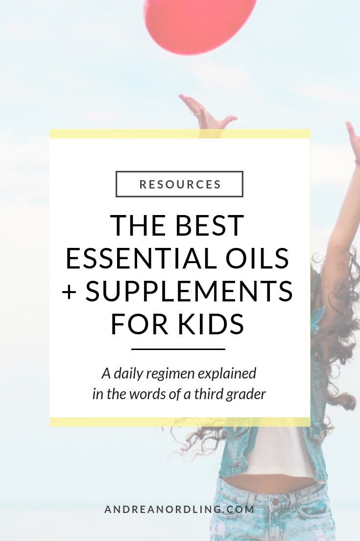 Having healthy kids can be simple when they can do it themselves! Get the top 10 oils and supplements FOR KIDS that they can use daily for immune and emotional support. #essentialoils #essentialoilrecipes #healthykids #guthealth