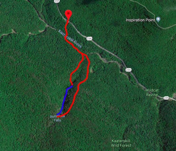 Route Guide Buttermilk Falls in the Catskills Ben Carlson BMF Kronos Furnace Industries DRY ICE Tools 2.jpg
