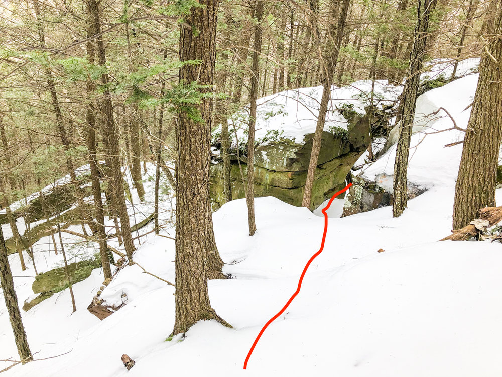 Route Guide Buttermilk Falls in the Catskills Ben Carlson BMF Kronos Furnace Industries DRY ICE Tools Descent 4.jpg
