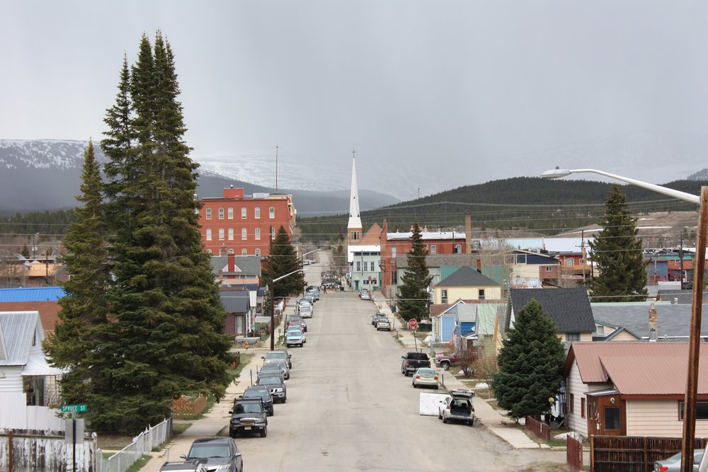 Leadville looking west