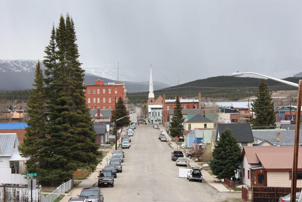 Leadville looking west