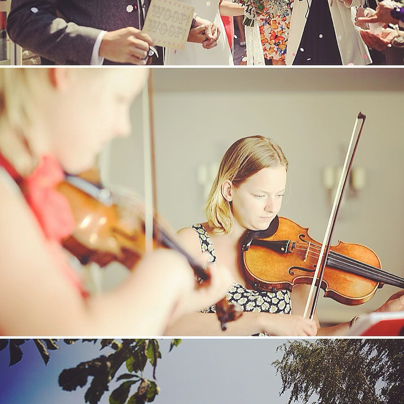 Vyne String Trio Wedding Hyde Barn Cotswolds