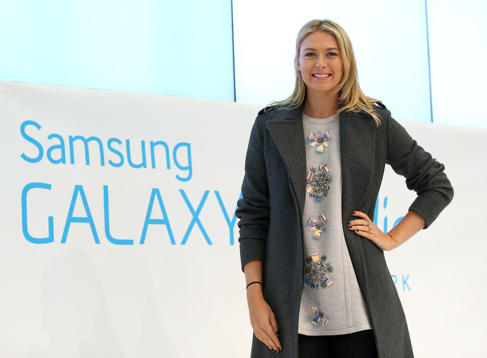 Maria Sharapova for Samsung