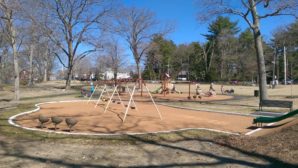 The CAPP Playground at Halloran Park was overdue for a facelift. In December 2014, it reopened as a fully accessible play area for ages 2-12 (and anyone else who loves swings!)