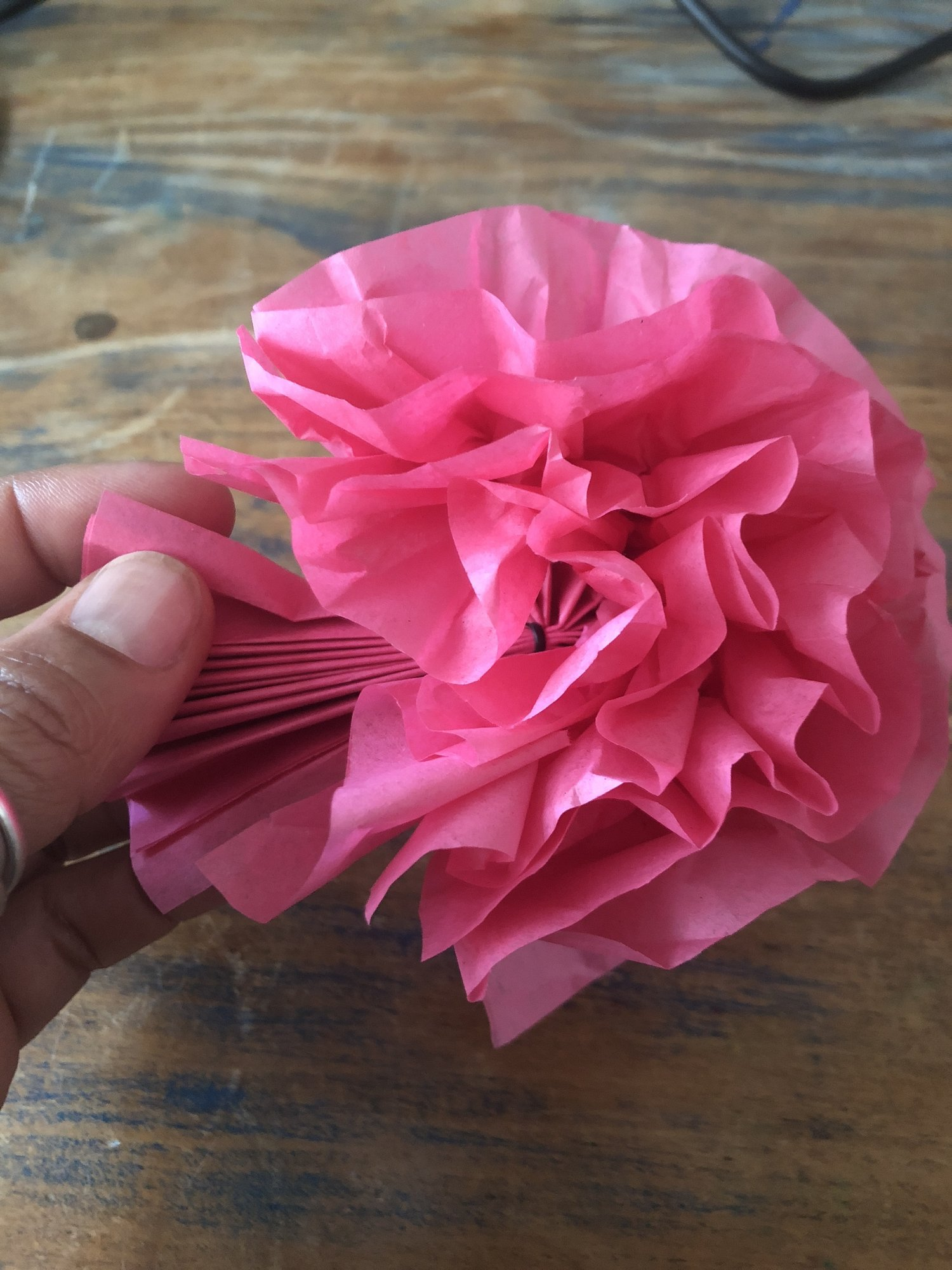 Magic Box Monday Crepe Paper Flowers Gina Carroll Has Something