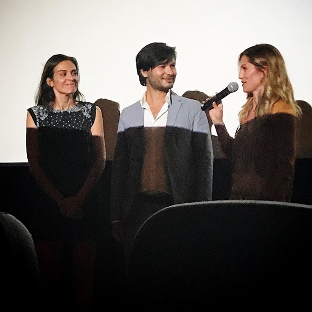 Last night @lashortsfest...Jack (Melissa Jackson) Jill (Ellen Hollman), and Writer/Director (Nikhil Melnechuk) together again for the first time since filming #JackandJill. Thanks to all our friends who came! #lashortsfest #jackandjillarecoming #jandjmovie #womeninfilm