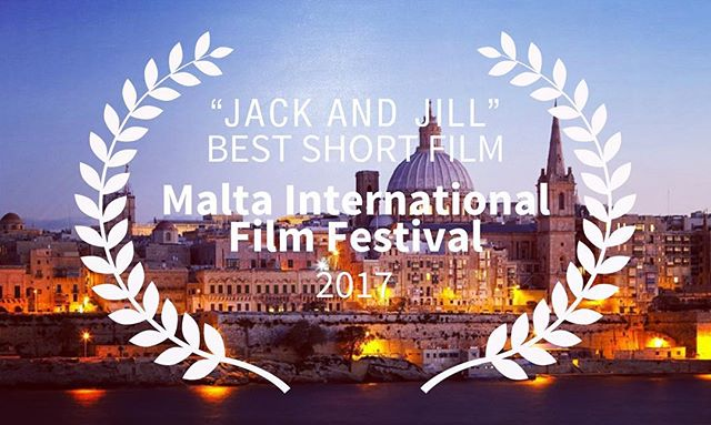 "#JackandJill has won the ""Best Short Film"" Award at the Malta International Film Festival! Thanks to Adis and the team for the honor. #jackandjillarecoming #maltafilmfestival #jandjmovie #womeninfilm"