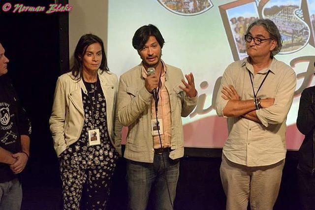 "#explainingface. ""Jack"" @themelissajackson and writer/Director @nikhilmelnechuk @coneyislandfilmfestival. #jandjmovie #jackandjill #qanda"