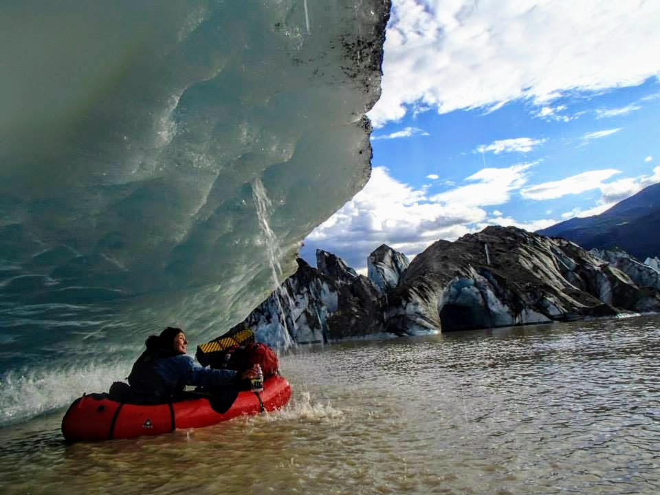 Getting up close and personal with ancient glacial ice