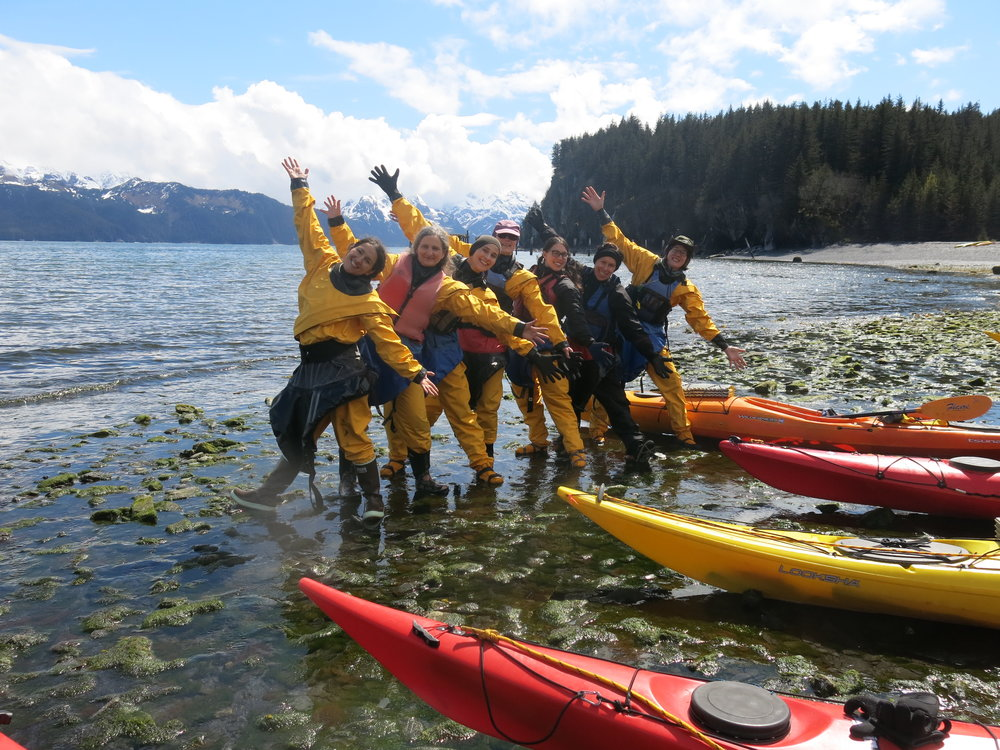 Women's Sea Kayak May 26-28th