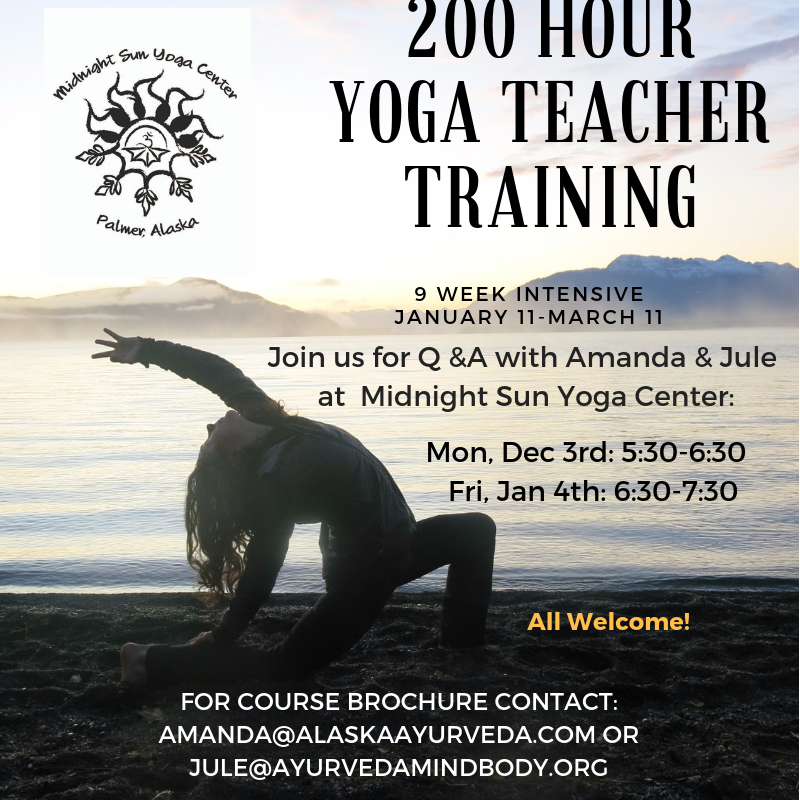 Upon completion of the program, you will have the option to register with the Yoga Alliance as a 200 hr RYT