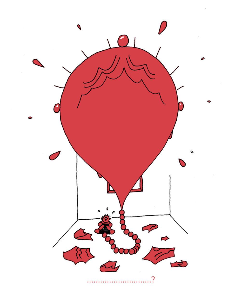 Ego Balloon, personal (2018)