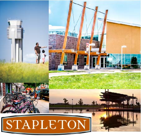 Stapleton is full of neighborhood parks.