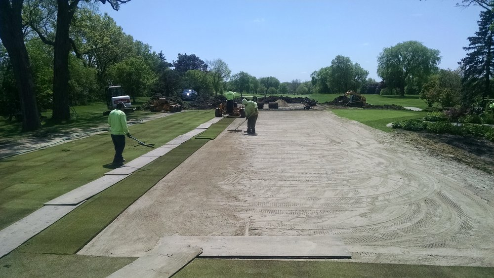 Bentgrass Install During...