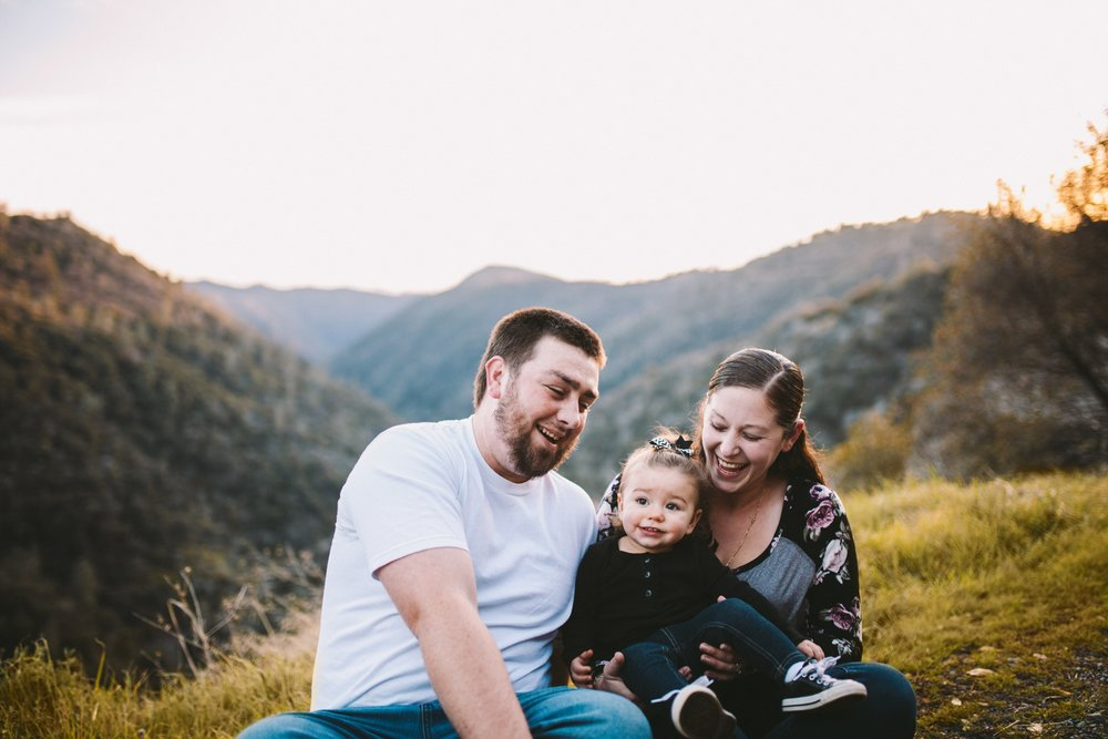 Family Photography Sierra Nevada Foothills
