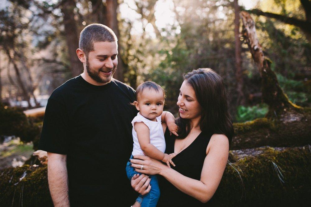 Happy Parents Family Portrait Norcal