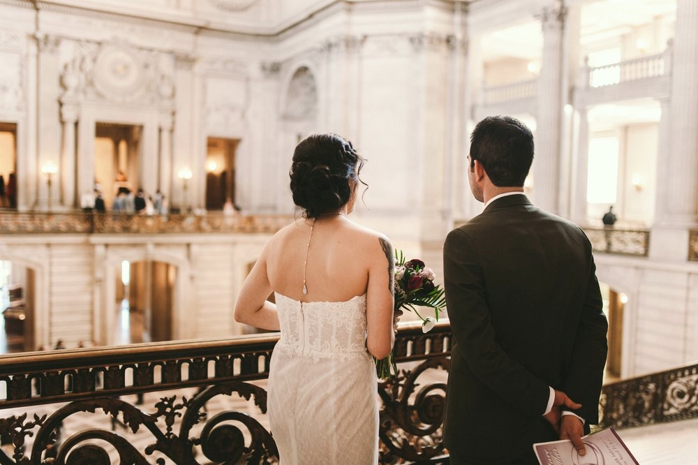 San Francisco City Hall & Stable Cafe Wedding Photography 176.jpg
